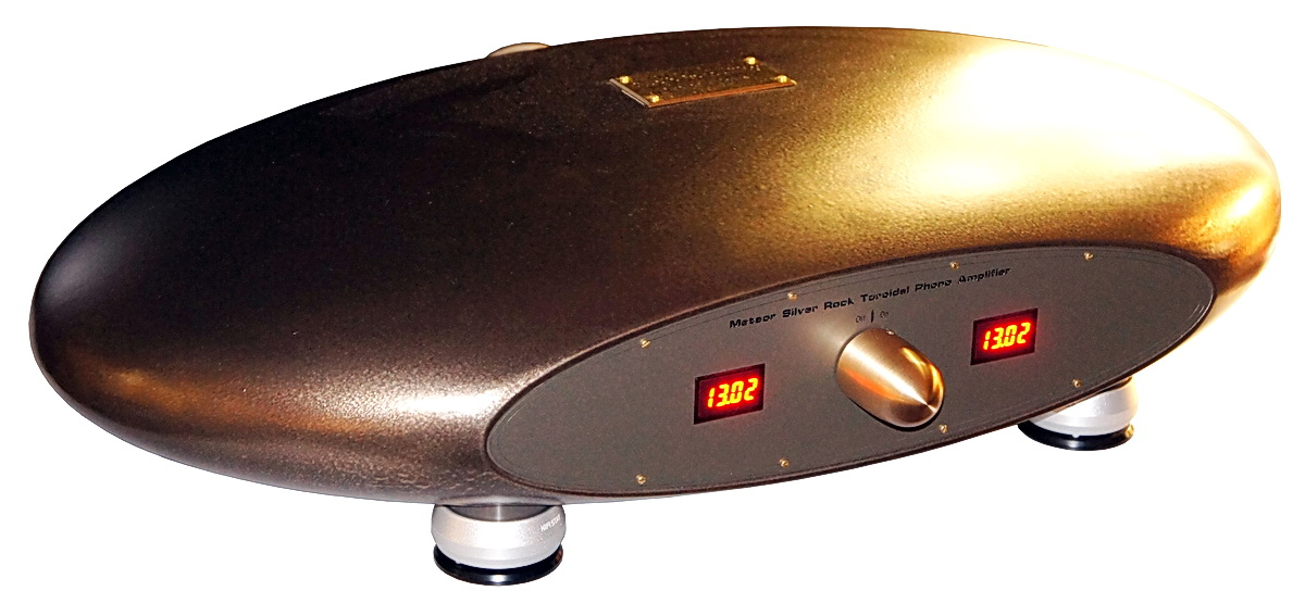 Meteor Silver Rock Phono